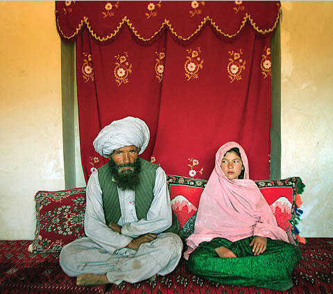 Would you marry a child bride? Child-bride-afghanistan