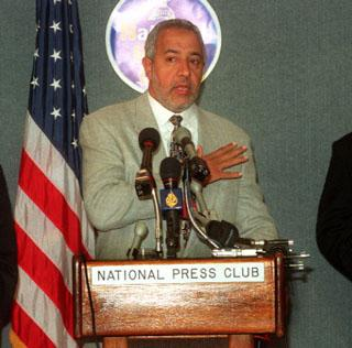 Abdurahman Alamoudi, former president of the American Muslim Foundation, actively raised money for Hezbollah as well as Hamas. (Rachel Griffith/UPI)
